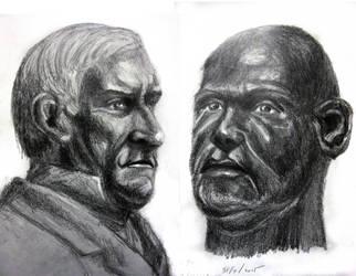 Two Hour Life Sketches: White n Black by Uranus-seventhsun