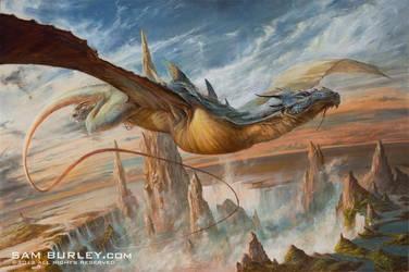 Keeper of Cascade by samburley