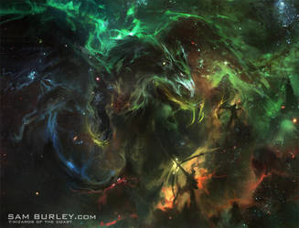 MTG Concept: Land of Nyx by samburley