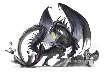 Black Dragon by samburley