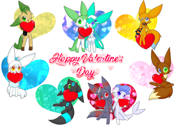 .:Happy Valentine's Day:. by Muxicalm