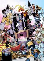 Marvel Ultimate Alliance by g45uk2