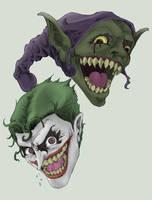 Joker and the Goblin by g45uk2