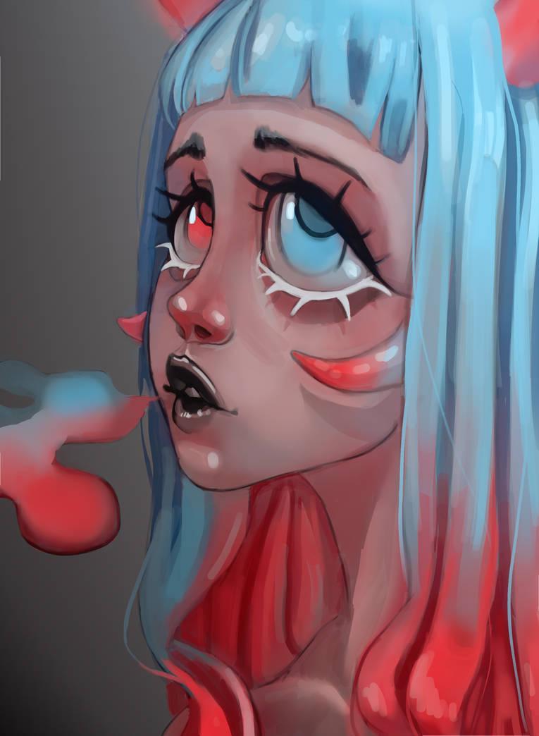 Red Blue by Irisvel