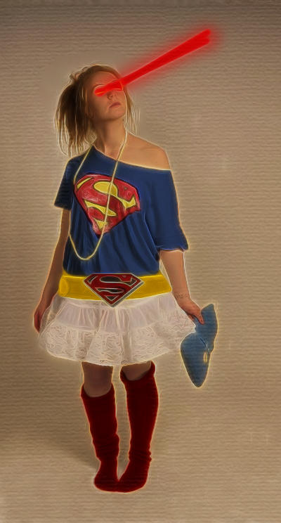 Super Girl by KarmeticPeace
