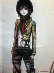 Mikasa by carlfabon