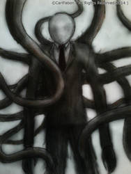 Slender Man by carlfabon