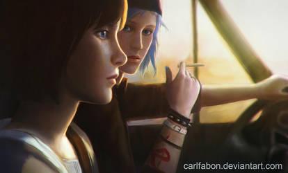 Max and Chloe by carlfabon