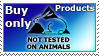 Not tested on animals by bnext