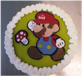 Super Mario Cake by Junie-zidye