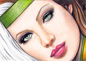 Rogue Sketch Card 5 by veripwolf