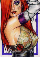 DAWN Return Sketch Card 1 by veripwolf