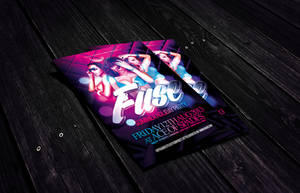 Fuse Summer Holiday Flyer Template by Dannygdesigns