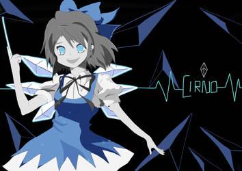 Cirno by SteampoweredMatoki