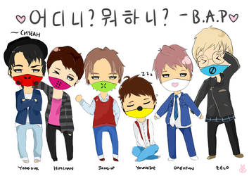 Where are you? What are you doing? -B.A.P by SteampoweredMatoki