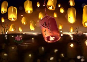 Lanterns by SteampoweredMatoki