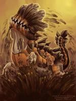 Sand Juggernaut by Zyleeth