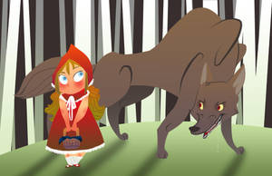 Red and the Wolf by Toodles3702