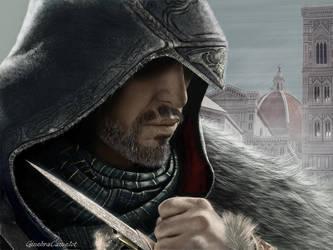 Ezio Auditore - Assassins Creed by GinebraCamelot