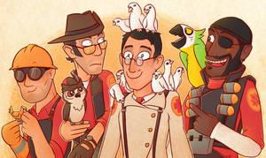 bird nerds by Kitty4President