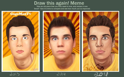 Draw this again meme - Gogomantv by Lali-the-Bunny
