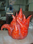 Flame tea-pot by Verulka by In-The-Mud