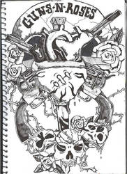 Guns N Roses by mittens-the-punk