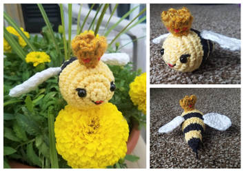 [April 2018] Club Crochet - Queen Bee by Mickeycricky