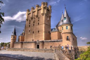 Segovia Alcazar Castle(HDR) by avatare