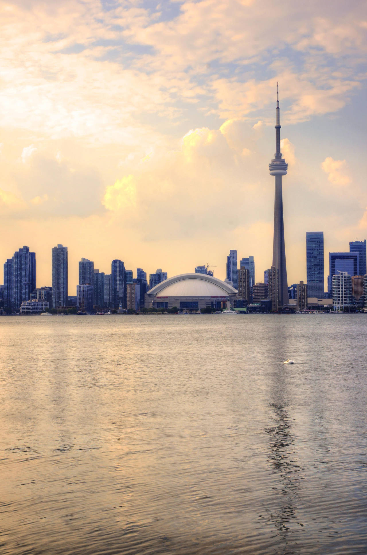 Toronto from the olympic island by avatare