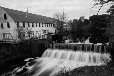 Needham Upper Falls by avatare