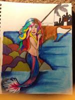 Mermaid by Ladyofthemadhouse