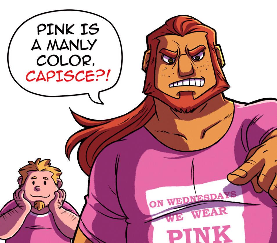 Pink Boys by Takeuchi15