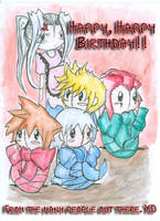 KH: Happy Birthday to Me. XD by Nichproductions