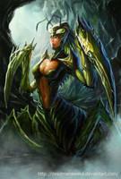 Mantis Queen Regular by DeadManAwake