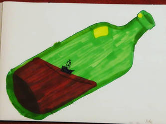 Bottle by mysteriousshamrock