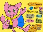 Cinamin The Gligar Bio by CinaminBunLike2Draw