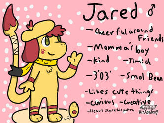 Jared The Smeargle! by CinaminBunLike2Draw