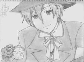 Tamaki Suoh ::The King:: by SilverMoonRose