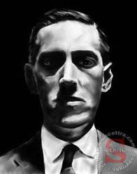 H.P. Lovecraft by ScOttRa