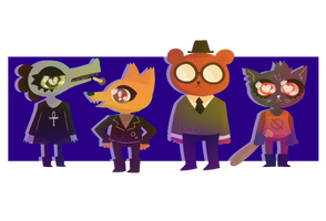 Night In The Woods by NecroPlanter
