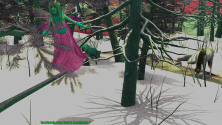 Elve In The Wood 2 by mariekoutnever