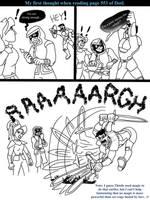 DotL: Brent vs Drathspeak by BlazeraptorGirl