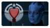Paramour Stamp - Liara by IndigoWolfe