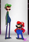 Mario bros by harrisonb32