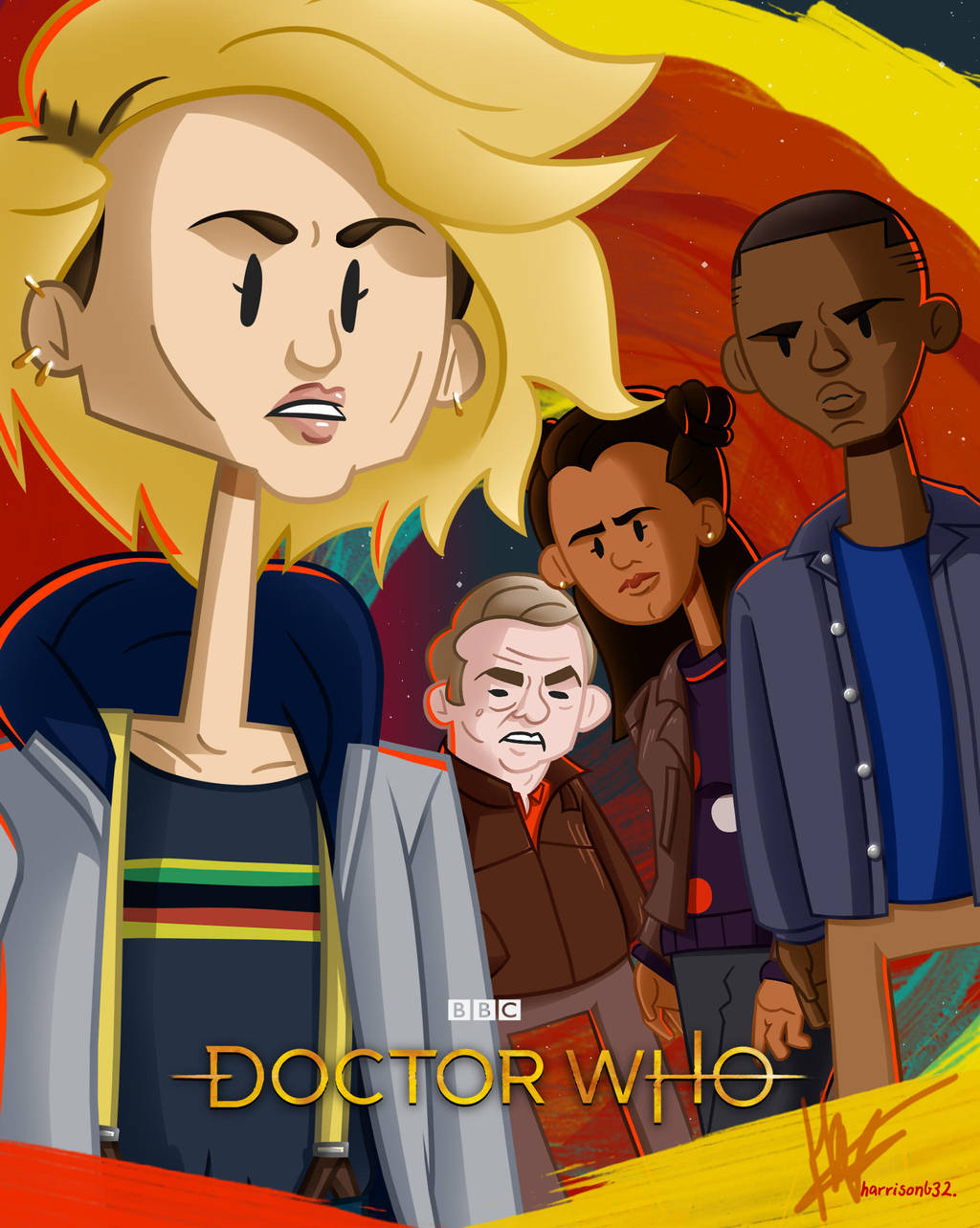 Team TARDIS -Poster by harrisonb32