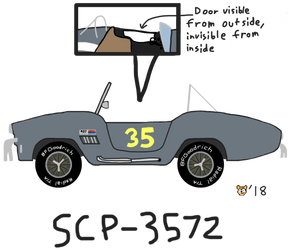 SCP-3572 by CometTheMountainLion