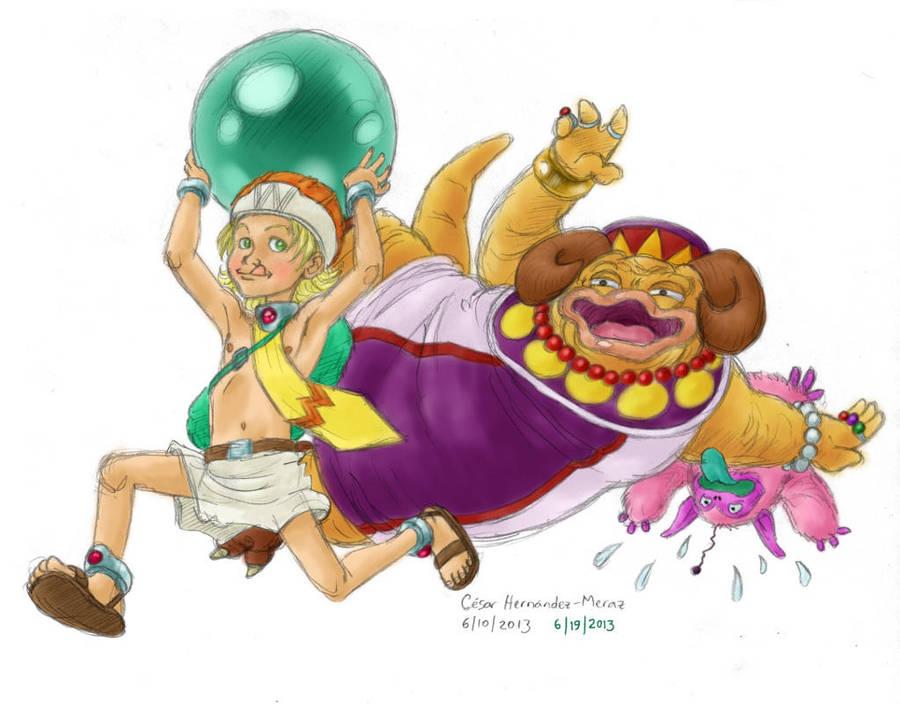 Monster Master, June by Cesar-Hernandez