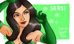 Marvel, Sersi by Cesar-Hernandez