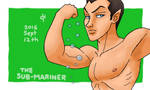 Marvel, The Sub-Mariner by Cesar-Hernandez